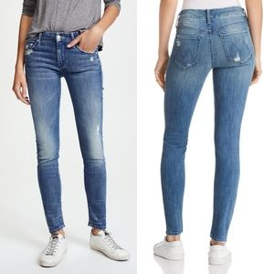 [Mother] The Looker Graffiti Girl Skinny Jeans